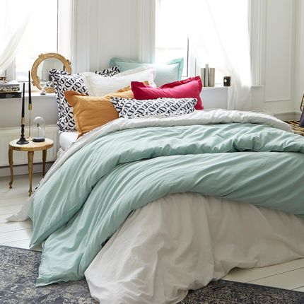 Bed linens - Washed Linen & Cotton - Doran Bedding - DORAN SOU
