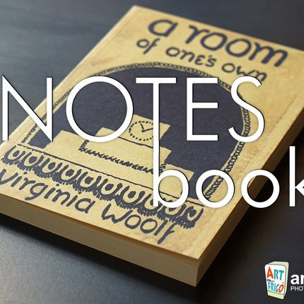 Stationery store - NotesBook literary notebooks - ART FRIGÒ - ABAT BOOK