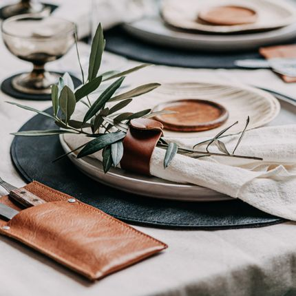 Placemats - The Raw Placemat - BRICKWALLS AND BARRICADES B.V.