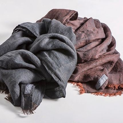 Scarves - washed linen 100% - BALTICO1.24