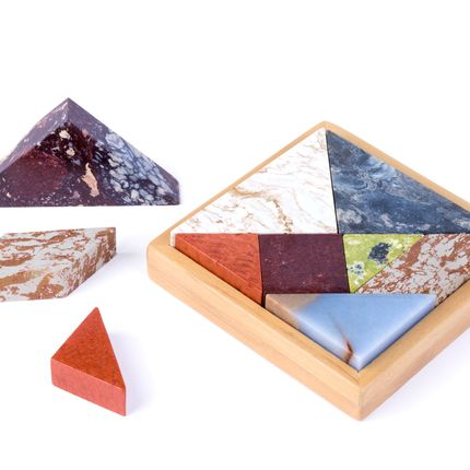Decorative objects - STONE GAMES TANGRAM - D.A.R. PROJECTS