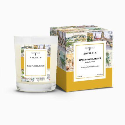 Bougies - Bougie végétale parfumée - ABEILLUS NATURE ET JARDINS