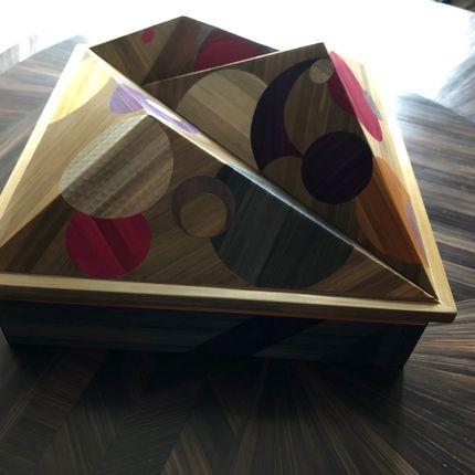Design objects - Box Flower Power - VALERIE COLAS DES FRANCS