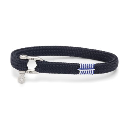 Jewelry - Vicious Vik bracelet for men - Navy - PIG & HEN