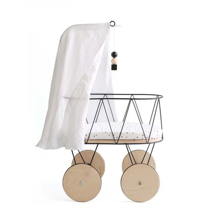 Toys - Dolly Cot - Chic Dolly Cot impresses with its minimalist design and sophisticated style - OOH NOO