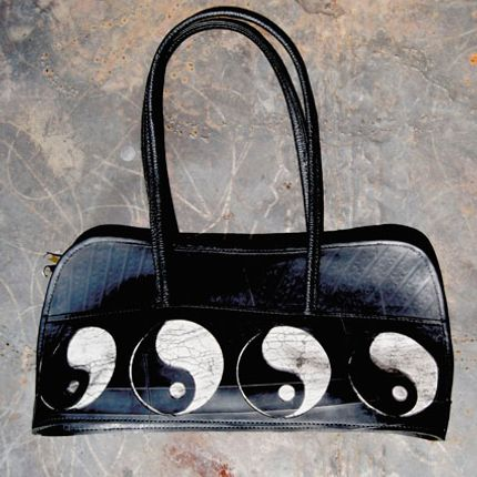 Bags / totes - TUBE BAG - WOW RECYCLED