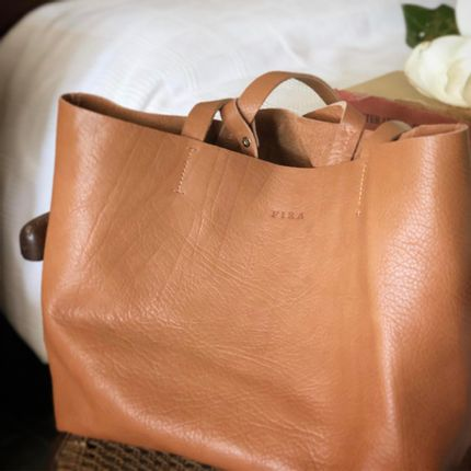 Bags / totes - Genuine Vegetable-tanned Leather Bags - FIRA BA