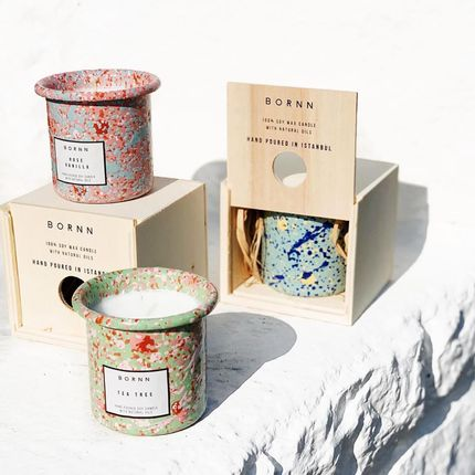 Bougies - Candle Collection - BORNN ENAMELWARE