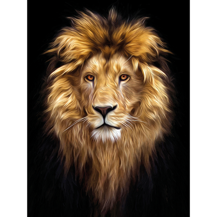 Wall decoration - MONDiART, AluArt, Beautiful Lion - MONDIART ART & DECORATIONS