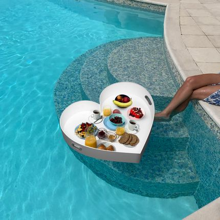 Trays - Heart Floating Tray - INOMO