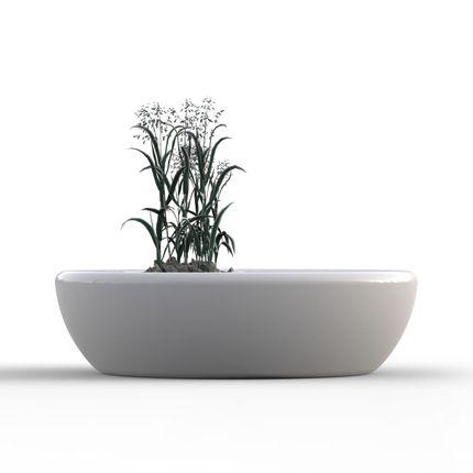 Bancs - Cazi Banc Pot de fleurs - INOMO