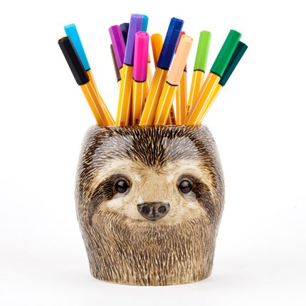 Organizer - Sloth pencil pot - QUAIL DESIGNS