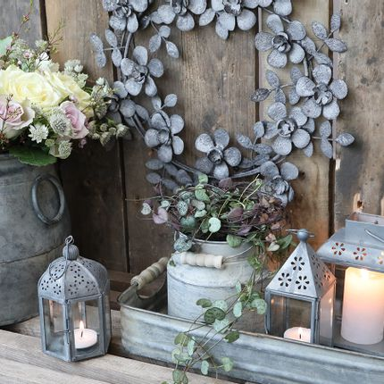 Decorative objects - Zinc - romantic, yet rustic - CHIC ANTIQUE DENMARK