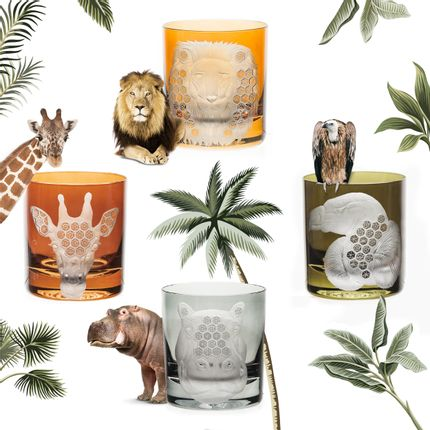 Crystalware - AFRICAN SAFARI Collection - ARTEL