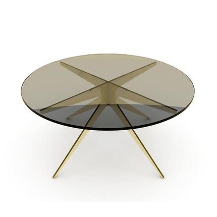 Coffee tables - DEAN ROUND COFFEE TABLE - TONICIE'S