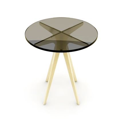 Coffee tables - TABLE RONDE DEAN TABLE RONDE - TONICIE'S