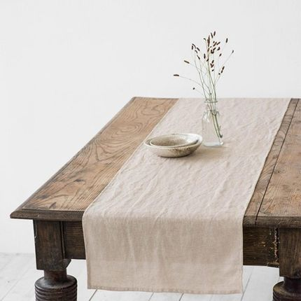 Linge d'office - Linen table runner in various colors - MAGIC LINEN