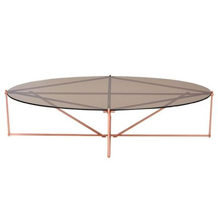 Coffee tables - TENSEGRITY OVAL COFFEE TABLE - TONICIE'S