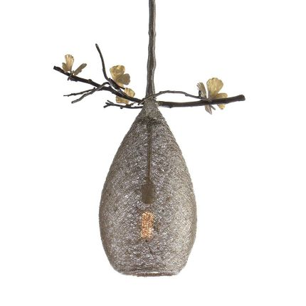 Pendant lamps - Cocoon Pendant Lamp Medium - MICHAEL ARAM