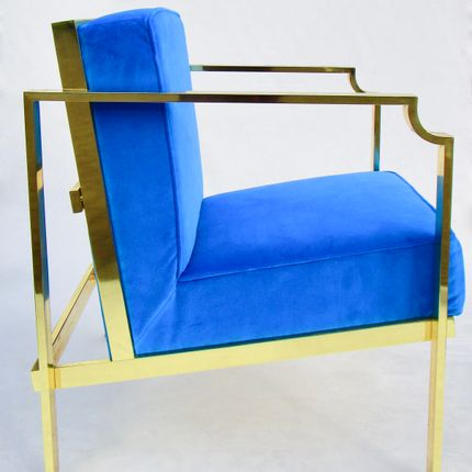 Armchairs - Curved Armchairs  - NICOLA FALCONE