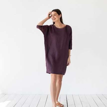 Ready-to-wear - Loose-fit linen dress ARUBA - MAGIC LINEN