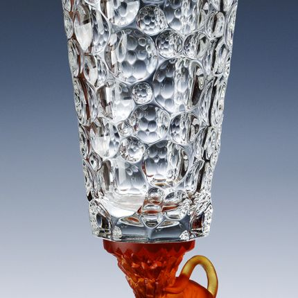 Crystalware - ITEMS WITH PANTHER MOLTEN GLASS FOOT - CRISTAL DE PARIS