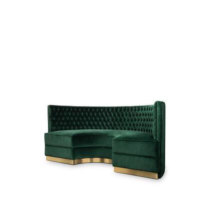 canapés - Bourbon Round Sofa  - COVET HOUSE