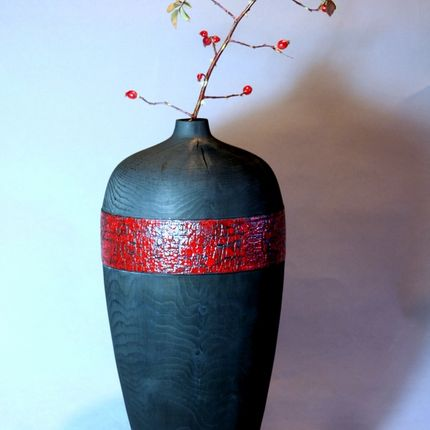 Vases - Crakou high vase - LE BOIS D'YLVA CREATION CRAKOU