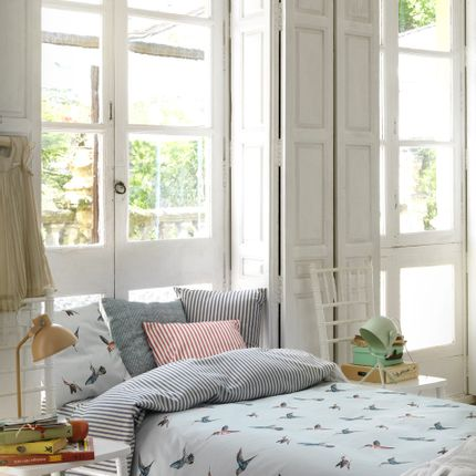 Fabrics - HUMMINGBIRDS - GIRONES