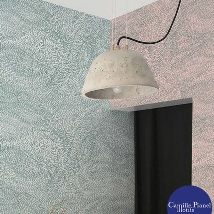 Wallpaper - Custom & Customizable Magnetic Wallpaper - CAMILLE PIANEL MOTIFS
