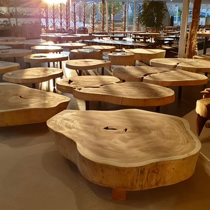 Tables basses - BOIS | Tables basses en bois - XYLEIA NATURAL INTERIORS
