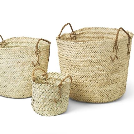 Decorative objects - Palm basket - SIROCCOLIVING APS
