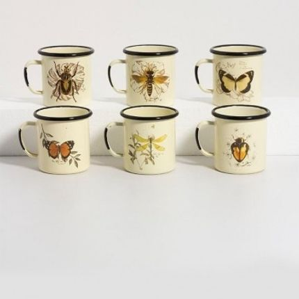 Mugs - Enamel mug nature - OFELIA