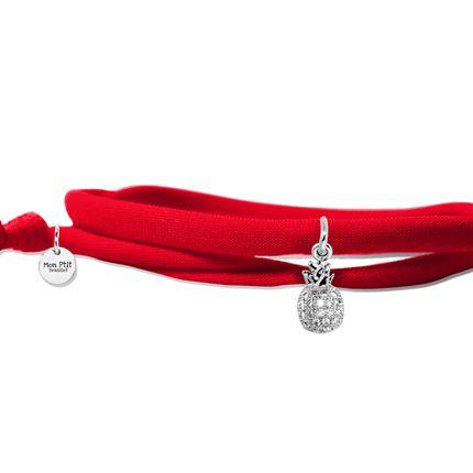 Bijoux - Ananas Silver - MON PTIT BRASSLET