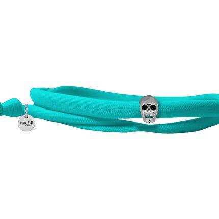 Jewelry - Skull Shine Silver - MON PTIT BRASSLET