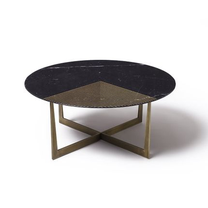 Tables basses - GOLD RADIUS  - TONICIE'S