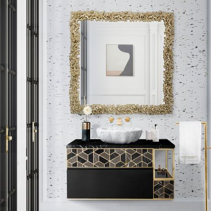 Miroirs - CAY Square Mirror - BRABBU DESIGN FORCES