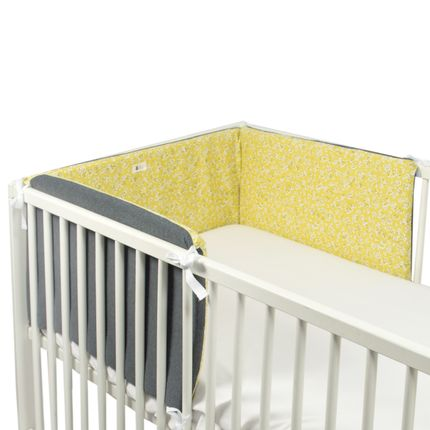 Children's bedrooms - Removable cot bumper 60*120 cm - FUN*DAS BCN