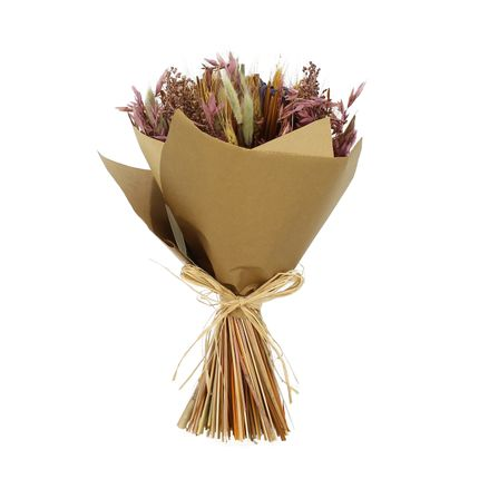 Floral decoration - bouquet of dried flowers Ø25cm - OLIVIA - INSTANT CANDIDE