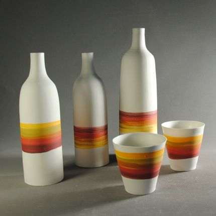 Carafes - Berlingo Collection Bottle - ATELIER TERRES D'ANGELY