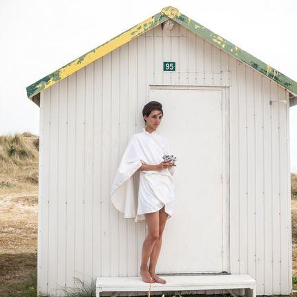 Homewear - Kimono Saut du Lit plumetis - 71BIS