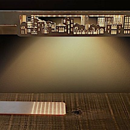 Design objects - Beirut City Desk Light - YOOK, BY RAMZI ABOUFADEL