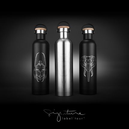 Platter, bowls - Signature Label'Tour Insulated Bottle - LABEL'TOUR