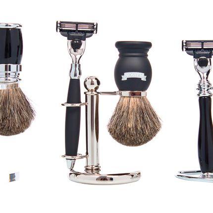 Accessoires à poser - Rasage - Supports blaireaux et rasoirs - PLISSON