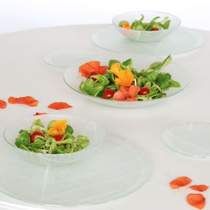 Formal plates - Foliage tableware - CLAIRE LANGE -  KALEIDOSCO
