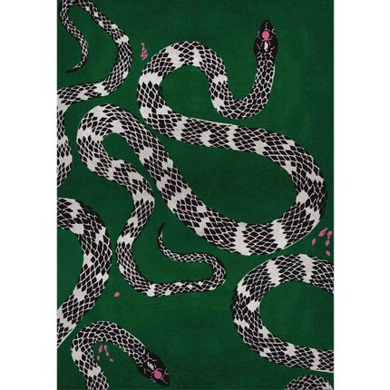 Wall decoration - Snake Rug  - COVET HOUSE