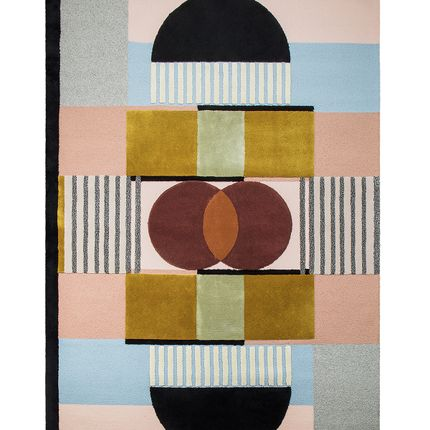 Design - Isaac Graphic Rug  - COVET HOUSE