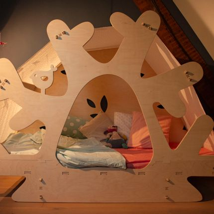 Chambres d'enfants - Lit arbre - ELYSTA