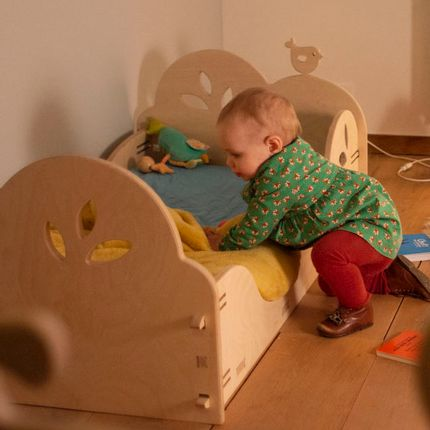 Baby furniture - Montessori inspired floor bed - ELYSTA