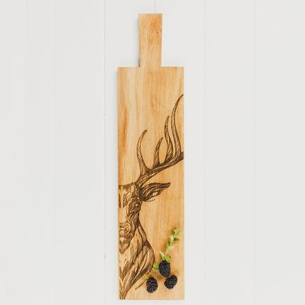 Kitchen utensils - Scottish Oak Serving Paddles - SELBRAE HOUSE LTD